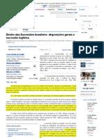 Direito das Sucessões brasileiro