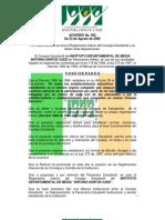 Reglamento Interno Consejo Estudiantil Casd Villavicencio