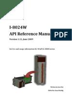 i8024w API Reference Manual v1.11