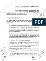 Annex on Transitional Arrangements and Modalities