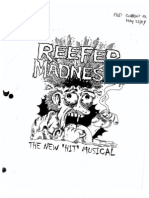 Reefer Madness Vocal Score