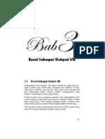 Contoh Latihan Excel Sebagai Input Output Program VB 6