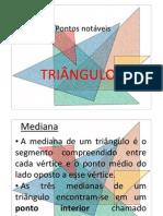 2596 Pontos Notaveis Do Triangulo