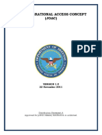DOD - Joint Operational Access Concept - 2011