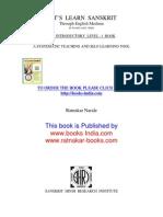 Sanskrit Book 1