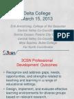 CVRN Regional Event - San Joaquin Delta