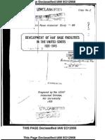 Development of AAF Bases History
