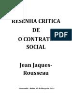 Resumo - O Contrato Social