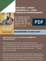 SULTAN MUHAMMAD AL FATEH -PENAKLUK KOSNTANTINOPEL.pdf