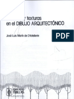 Tecnicas y Texturas en Dibujo Arquitectonico