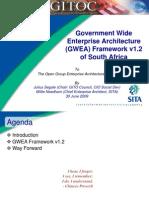 GWEA Framework 1.2 EA Forum 30 June 09
