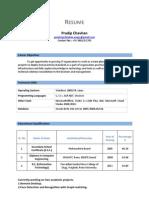 PradipChavhan Resume