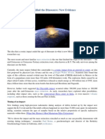4- Asteroid Impact That Killed the Dinosaurs - New Evidence