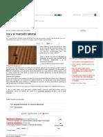 Ica y El Mercado Laboral