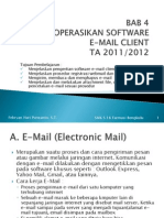 Bab 4 Mengoperasikan Software e Mail Client