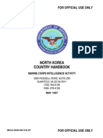 Marines Dprk Country Handbook