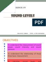 Lecture #2 - Sound Level