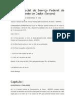 Estatuto Social do Serviço Federal de Processamento de Dados
