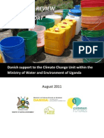 A Review of Danish support to the Ugandan Climate Change Unit, Ministry of Water and