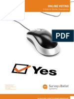 Online Voting a Guide for Member Organizations