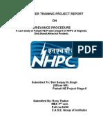 NHPC Report