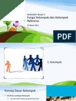 Ekma4567 Modul 5&6 Fungsi Kelompok, Keluarga & Kelas Sosial