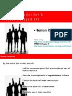 Project Management 8 Human Resources