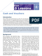 WFP Evaluation Top 10 Lessons