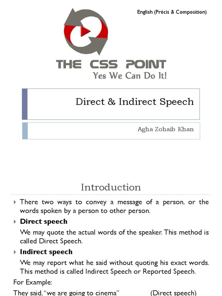 Direct Indirect Pdf