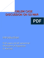 Problem Case Discussion on 10 Feb New Change