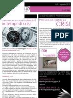 Gestire le Finanze in Tempi Di Crisi