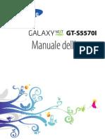 Istruzioni Telefono Galaxy
