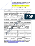 CMC Sample Aptitude (General) Placement Paper