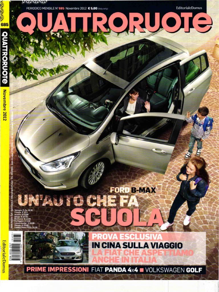 Schema Elettrico Lancia Y Pdf : 4ruote novembre 2012