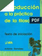 Gonzalez Intro Practica Filosofia