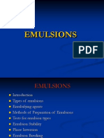 Emulsions