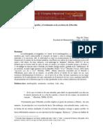 Autobiografía y testimonio en la escritura de Derrida
