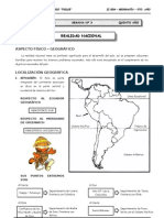 II BIM - 5to. Año - GEO - Guía 3 - Realidad Nacional (vale)