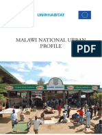 Malawi National Urban Profile