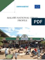 Malawi National Urban Profile