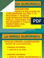La Herida Quirurgica