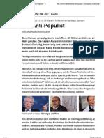 Italiens Mitte-links-Kandidat Bersani - Der Anti-Populist - Süddeutsche.de