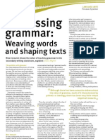 Better Language Arts Sample Article