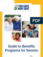 You Gave Now Save Guide to Benefits