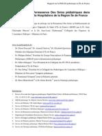 ++Rapport PDSESPediatrie