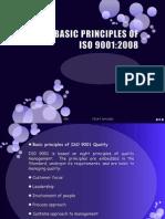 Principles as basis for ISO 9001:2000