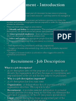 recruitment - introduction presentation.ppt