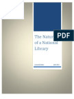The Nature of a National Library