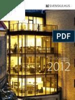 Svenska Hus Årsredovisning 2012