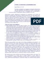 CATEQUESIS PARA LA UNCIÓN DE LOS ENFERMOS1